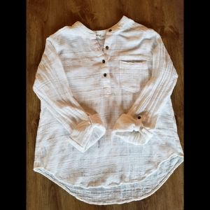 White Hollister Blouse